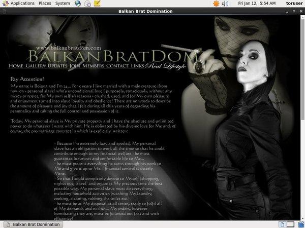 Balkan Brat Dom Daily Accounts