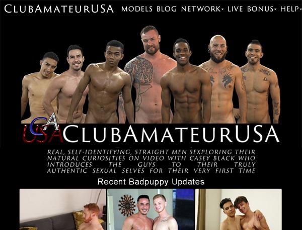 Club Amateur USA Members Password