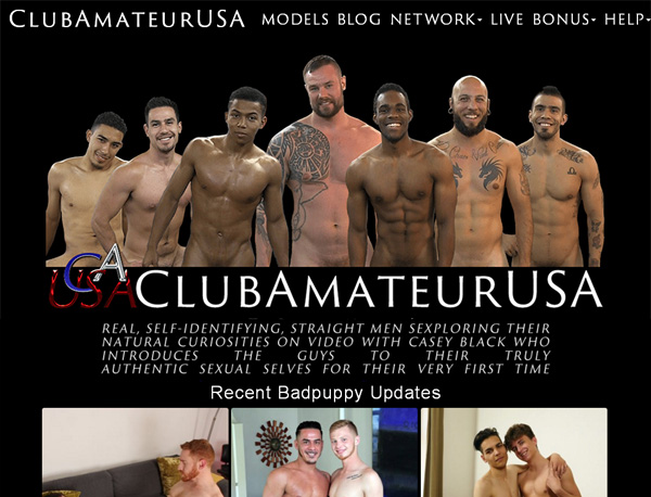 Club Amateur USA Sing Up
