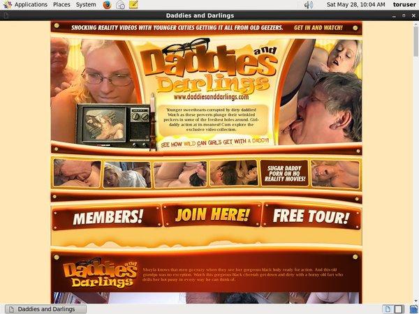 Daddiesanddarlings.com Porn