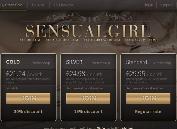 Free Sensualgirl Pass