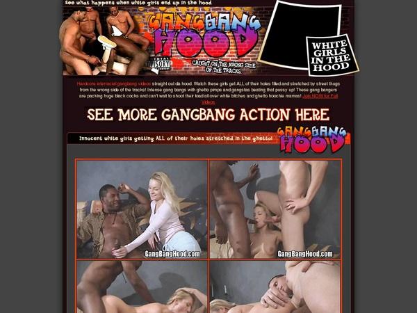 Gangbanghood.com Home Page