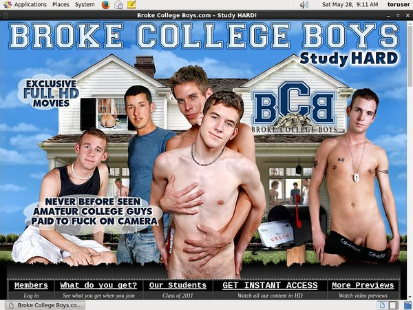 Is Broke College Boys Real?