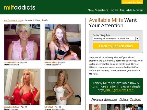 Milf Addicts Discount Membership