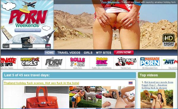 Pornweekends.com Porn Passwords