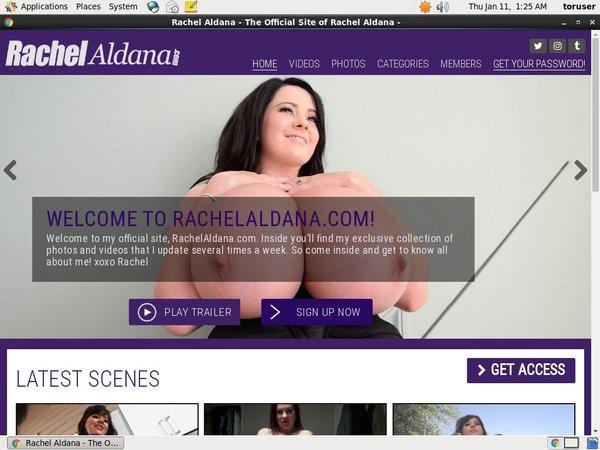 Rachel Aldana With Sliiing