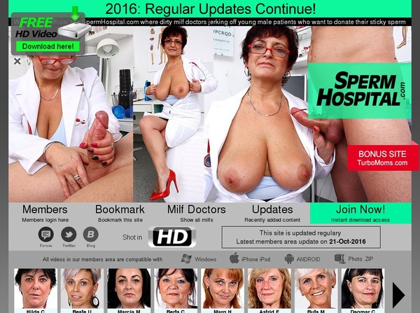 Spermhospital Accounts For Free