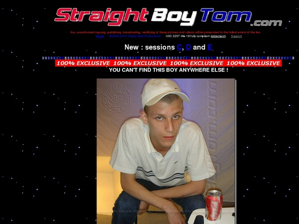 Straight Boy Tom Models