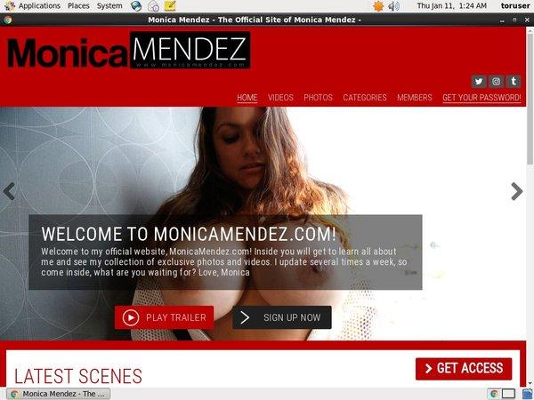 Monica Mendez Passcodes