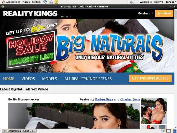 Bignaturals.com Payment