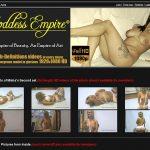 Goddess-empire.com For Tablet