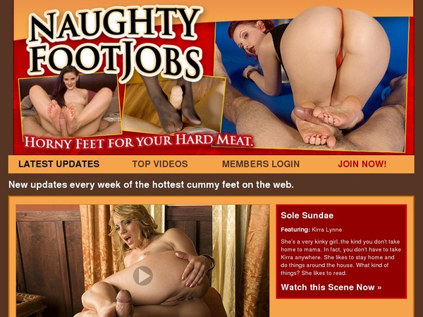 Naughty Foot Jobs Site Discount