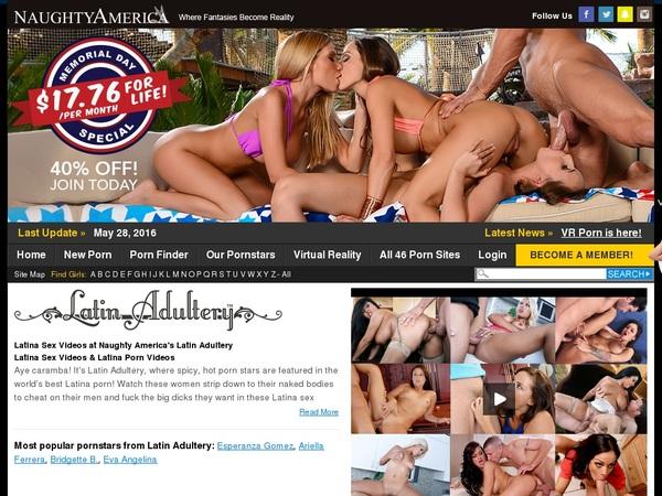 Get Into Latinadultery.com Free