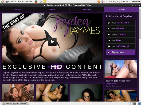 How To Join Jayden Jaymes XXX For Free