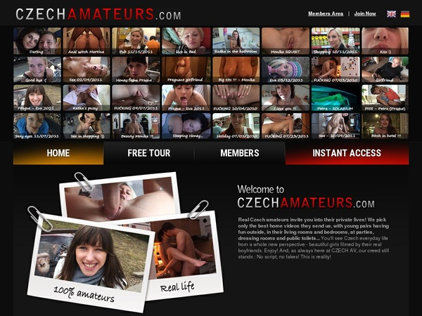 Czech Amateurs Promo Code