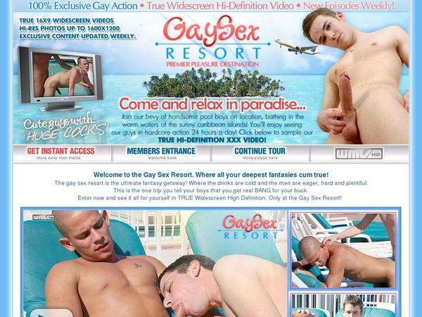 Gay Sex Resort Stream