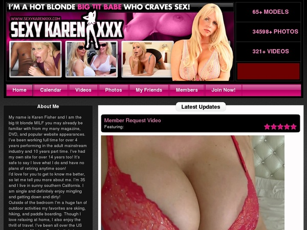 Karen Fisher Check Out