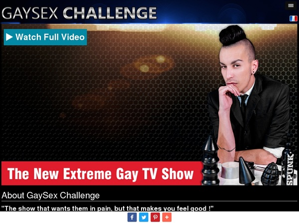 Gay Sex Challenge Members Password