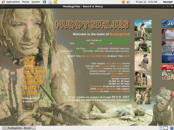 Muddygirlies Password Share