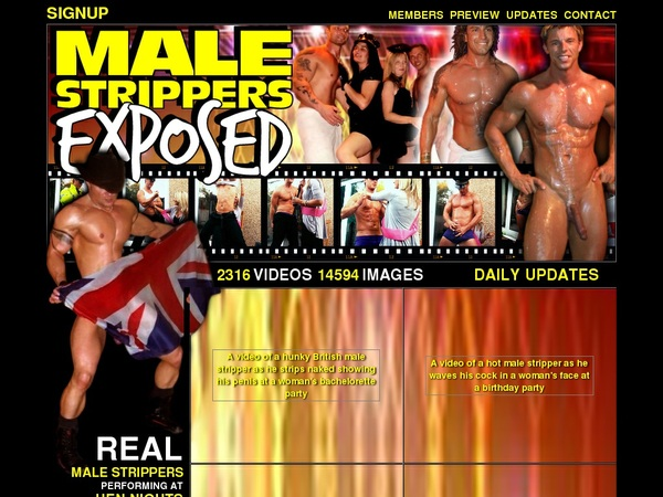 Male Strippers Exposed Mobile