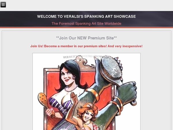 Veralsis Spanking Art Checkout Page