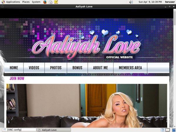 Aaliyah Love Promo Code