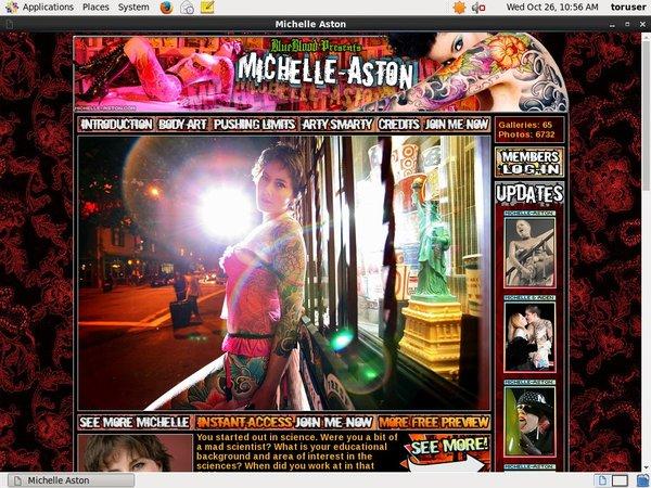 Michelle Aston Get Membership